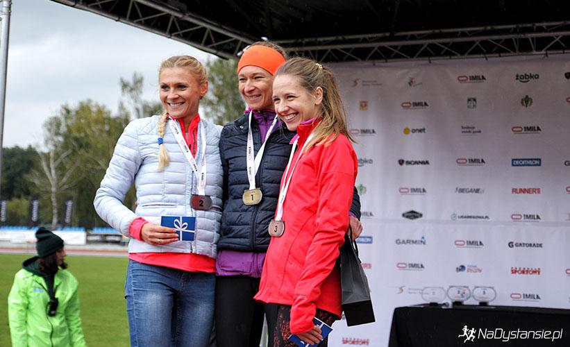 Podium Kobiet, Amatorskie Mistrzostwa Polski na 1 Milę