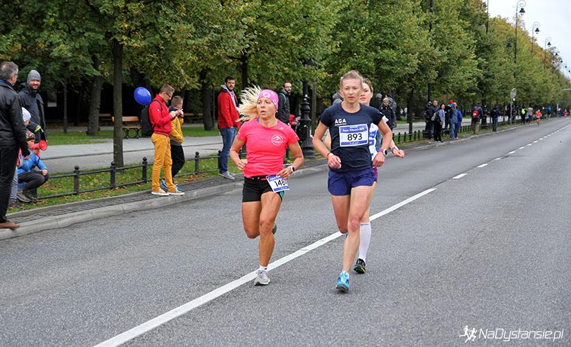 Na trasie biegu Samsung Irena Women's Run